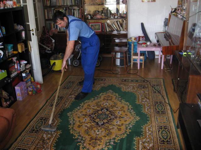химчистка на дому паласа Клин